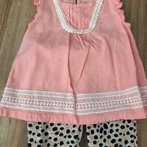 2pc girls outfit size 5t